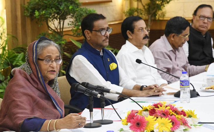 বিএনপি ভোটে ব্যর্থ হয়ে 'ব্লেম গেমে' নেমেছে : শেখ হাসিনা